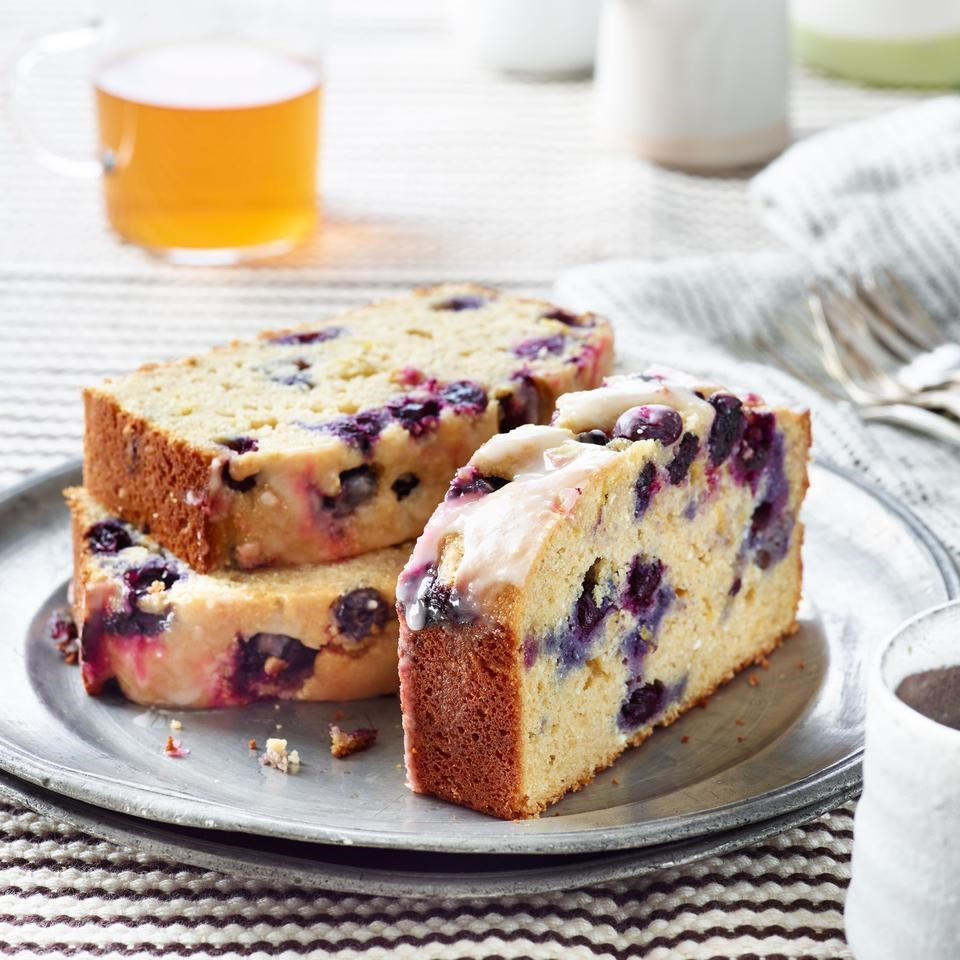 Blueberry Lemon Ricotta Pound Cake Recipe Eatingwell