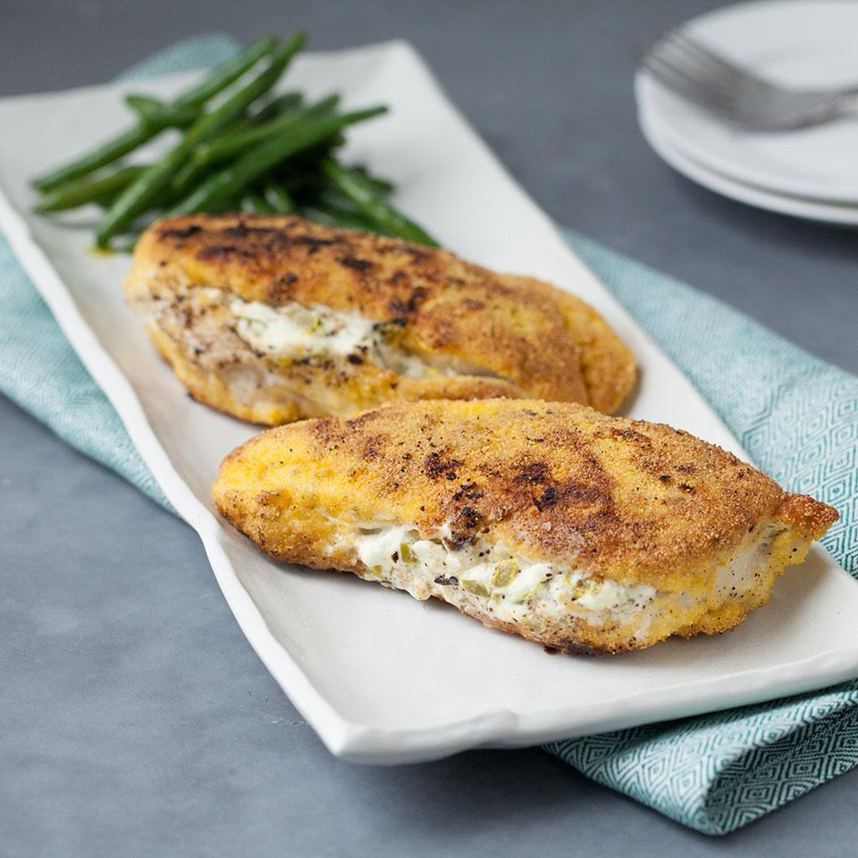 Chicken Rcipes: Jalapeño-Popper Stuffed Chicken Recipe