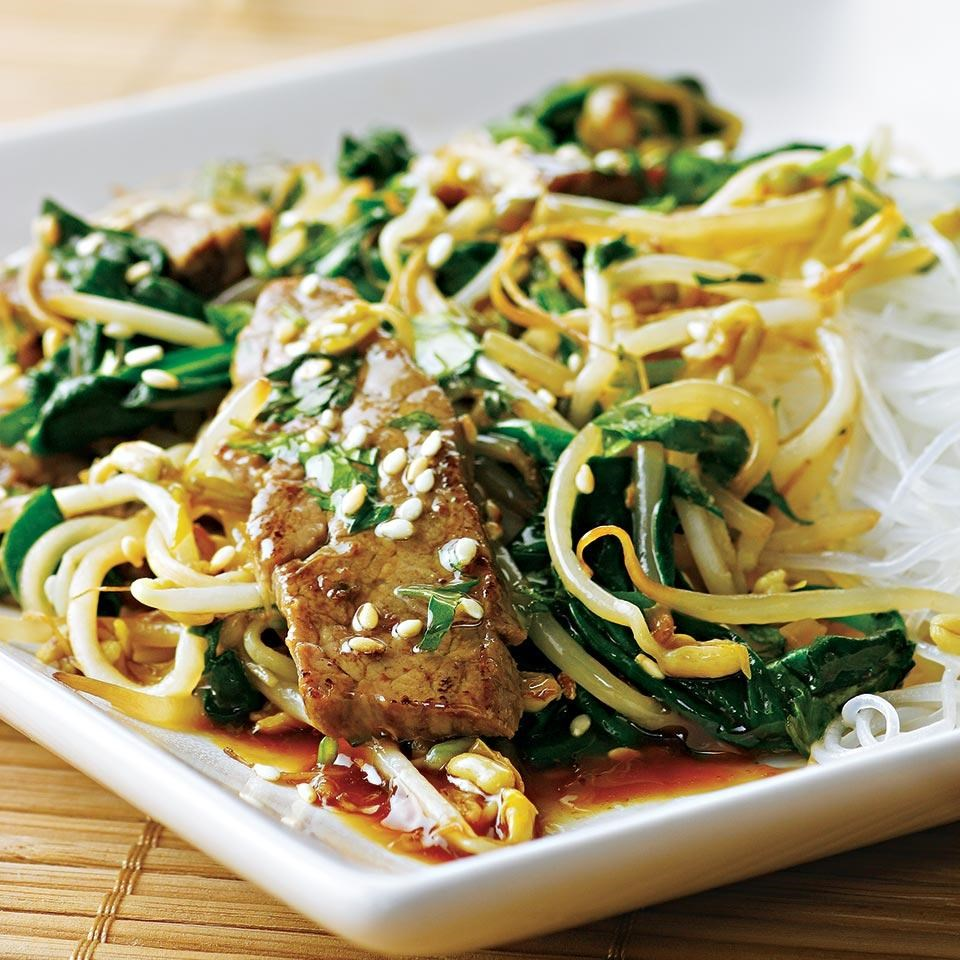 Korean Beef Stir-Fry Recipe - EatingWell