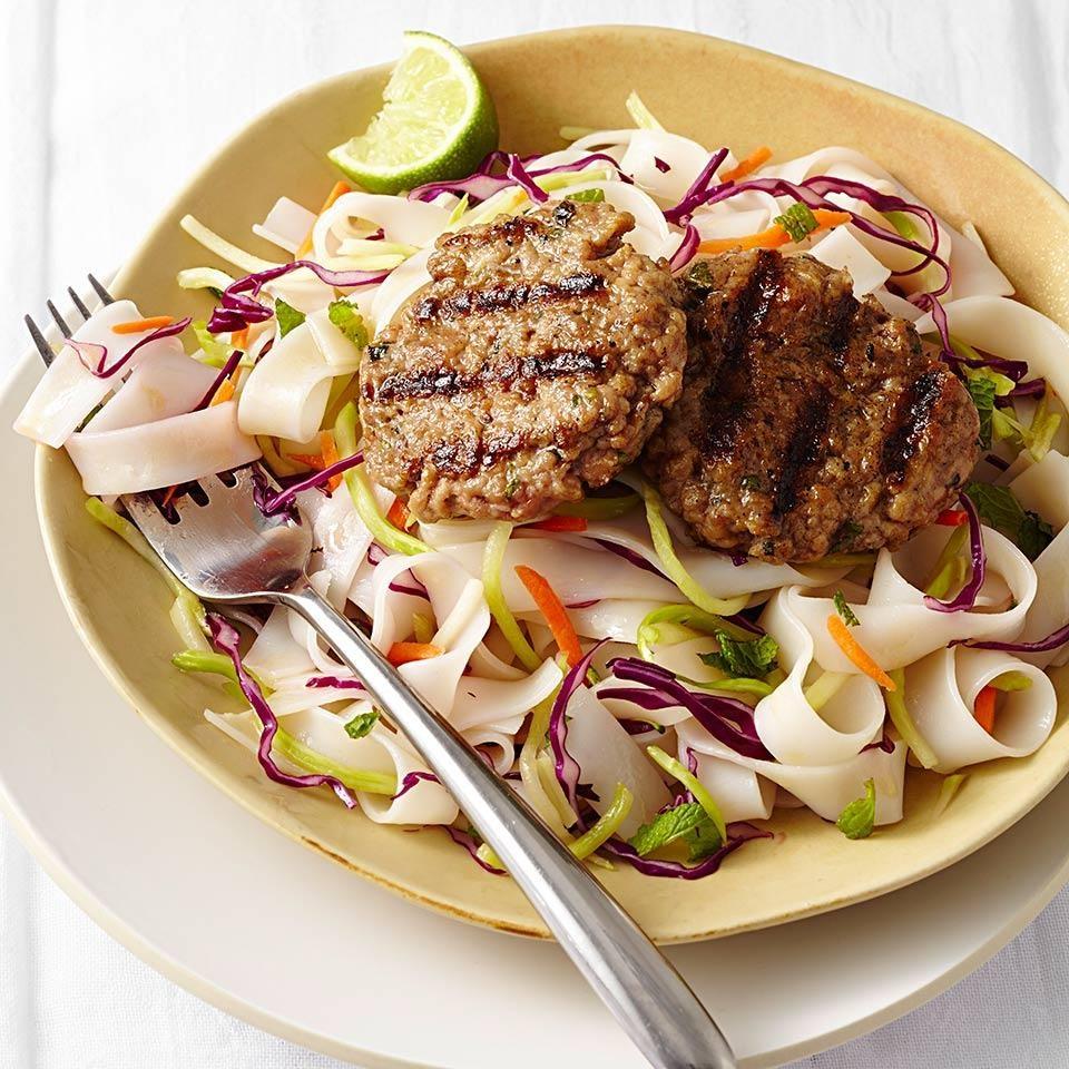 Pork & Broccoli Thai Noodle Salad