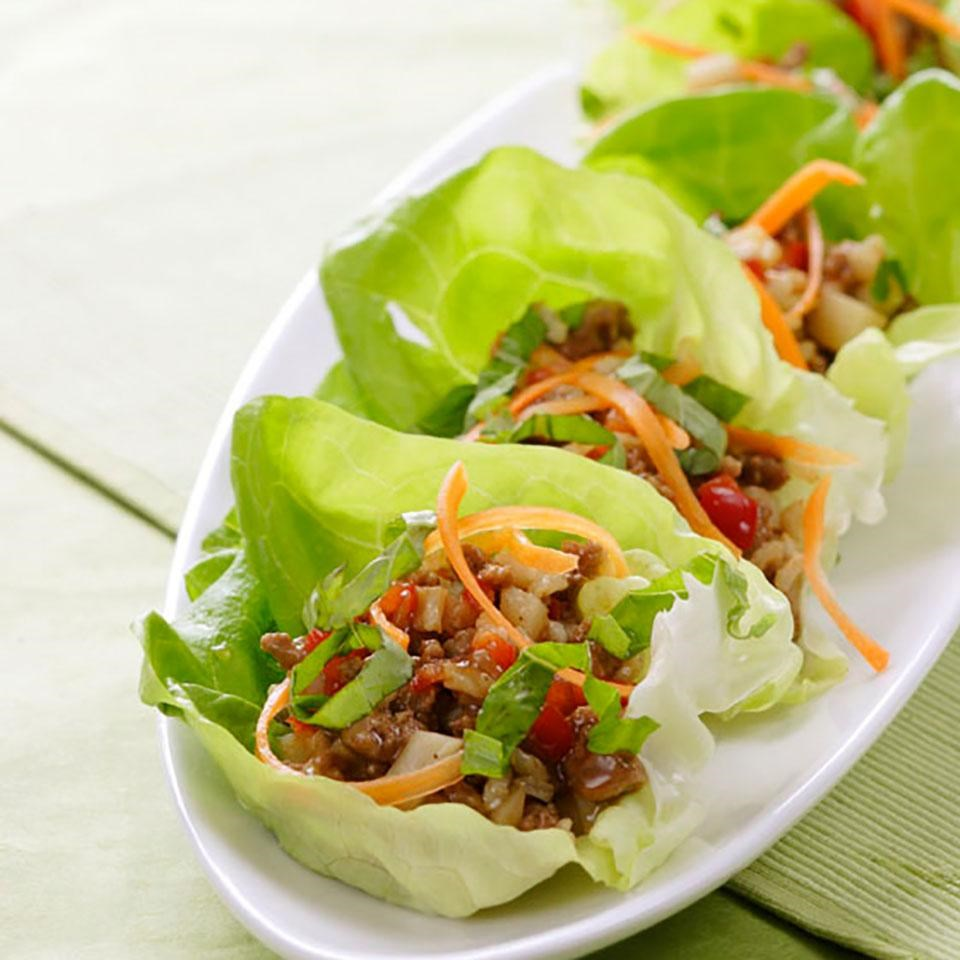 Recipes Food Wrap From Green Vegetables