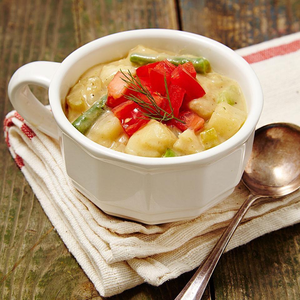Alaskan Cod Chowder Recipe