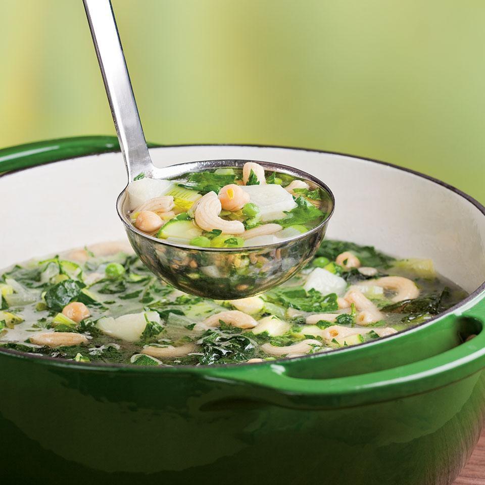 Green Vegetable Minestrone
