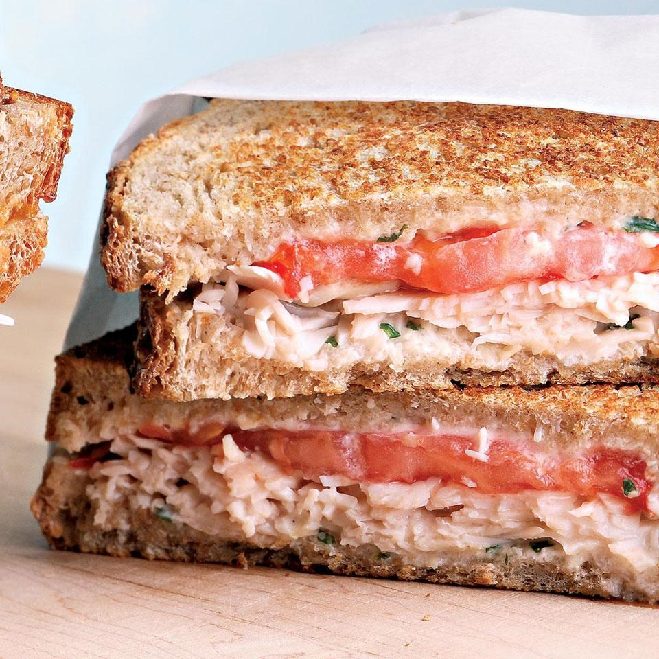 how to make a tomato sandwich recipe