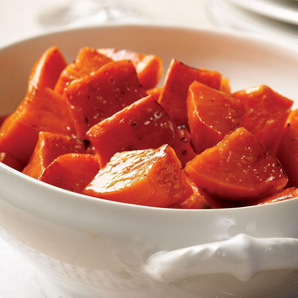 Maple-Roasted Sweet Potatoes Recipe