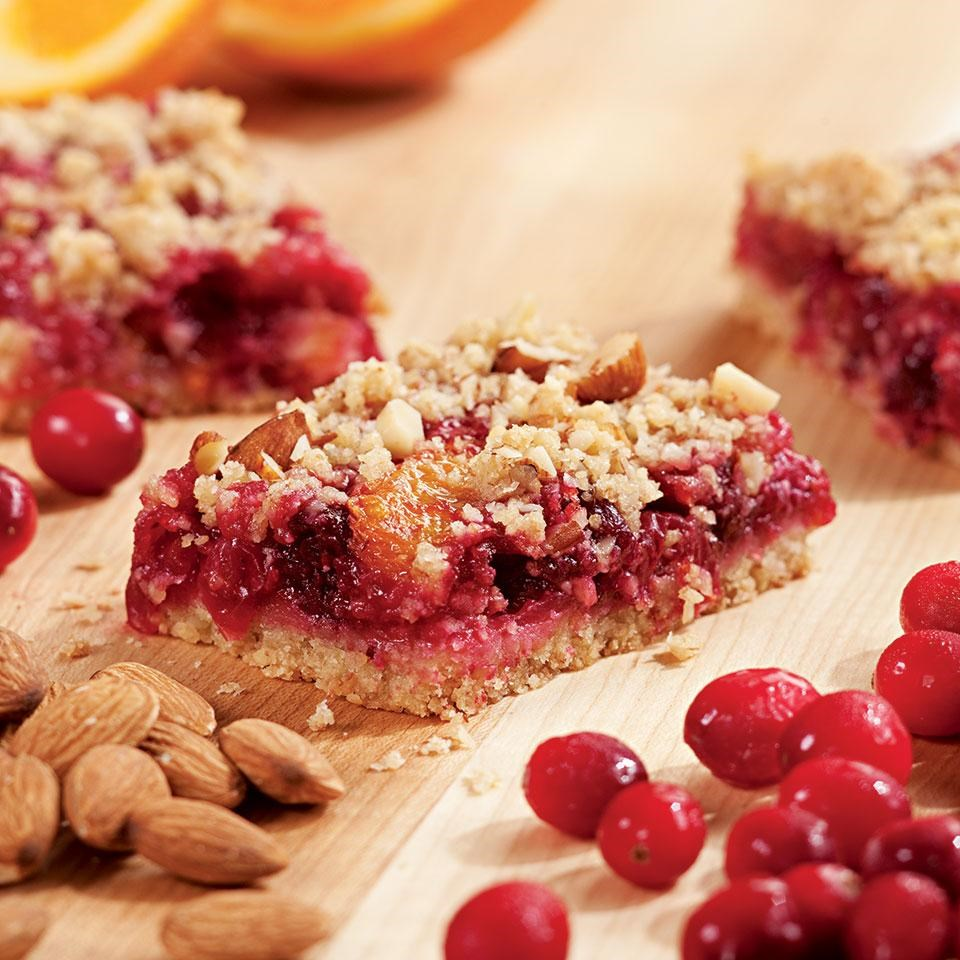 Cranberry-Orange Fruit Bars Recipe - EatingWell