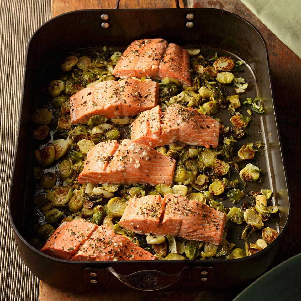 GREEN TEA ROASTED SALMON