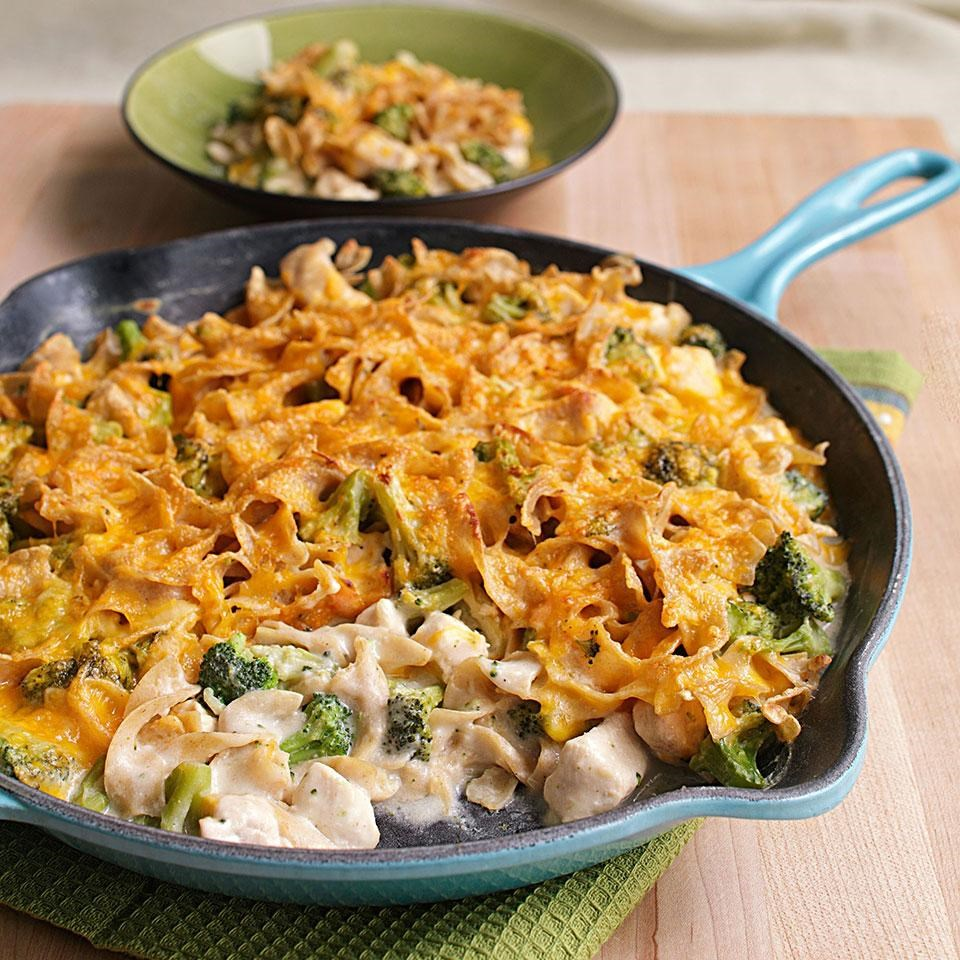 Stovetop Chicken & Broccoli Casserole