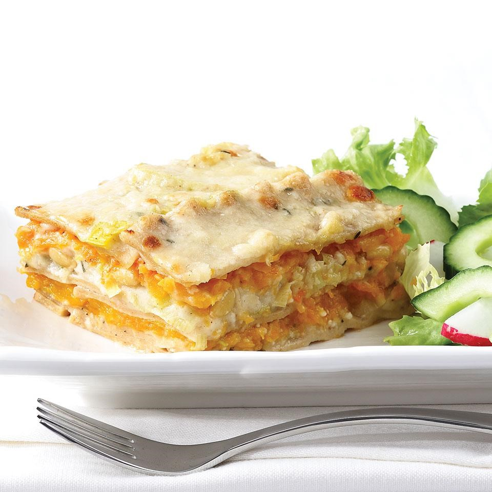 Squash & Leek Lasagna