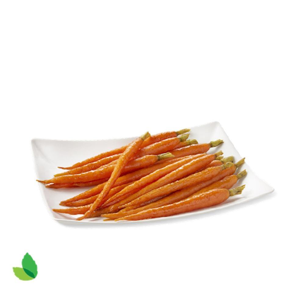 Bourbon Candied Carrots