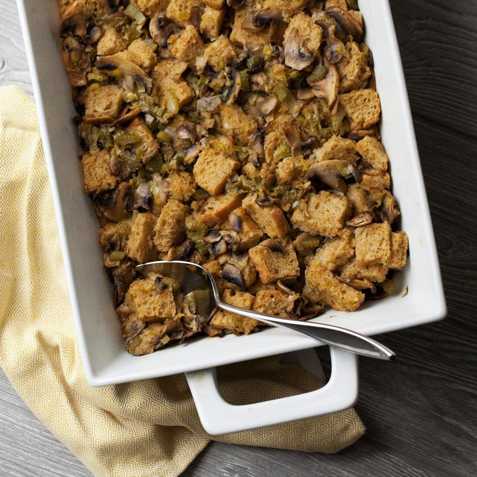 Vegan Sourdough Stuffing