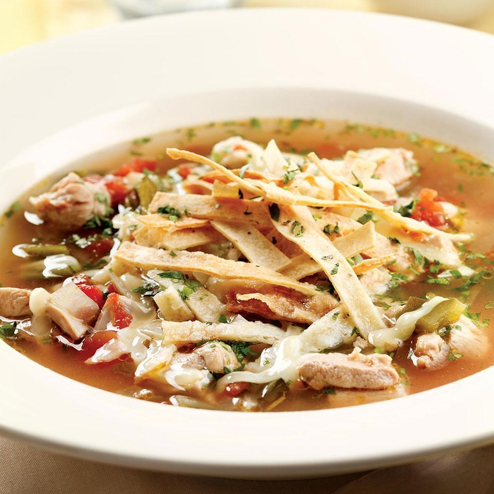 Tortilla Soup Recipe - EatingWell