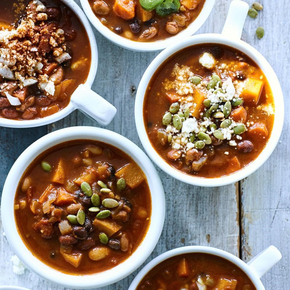 Four-Bean & Pumpkin Chili