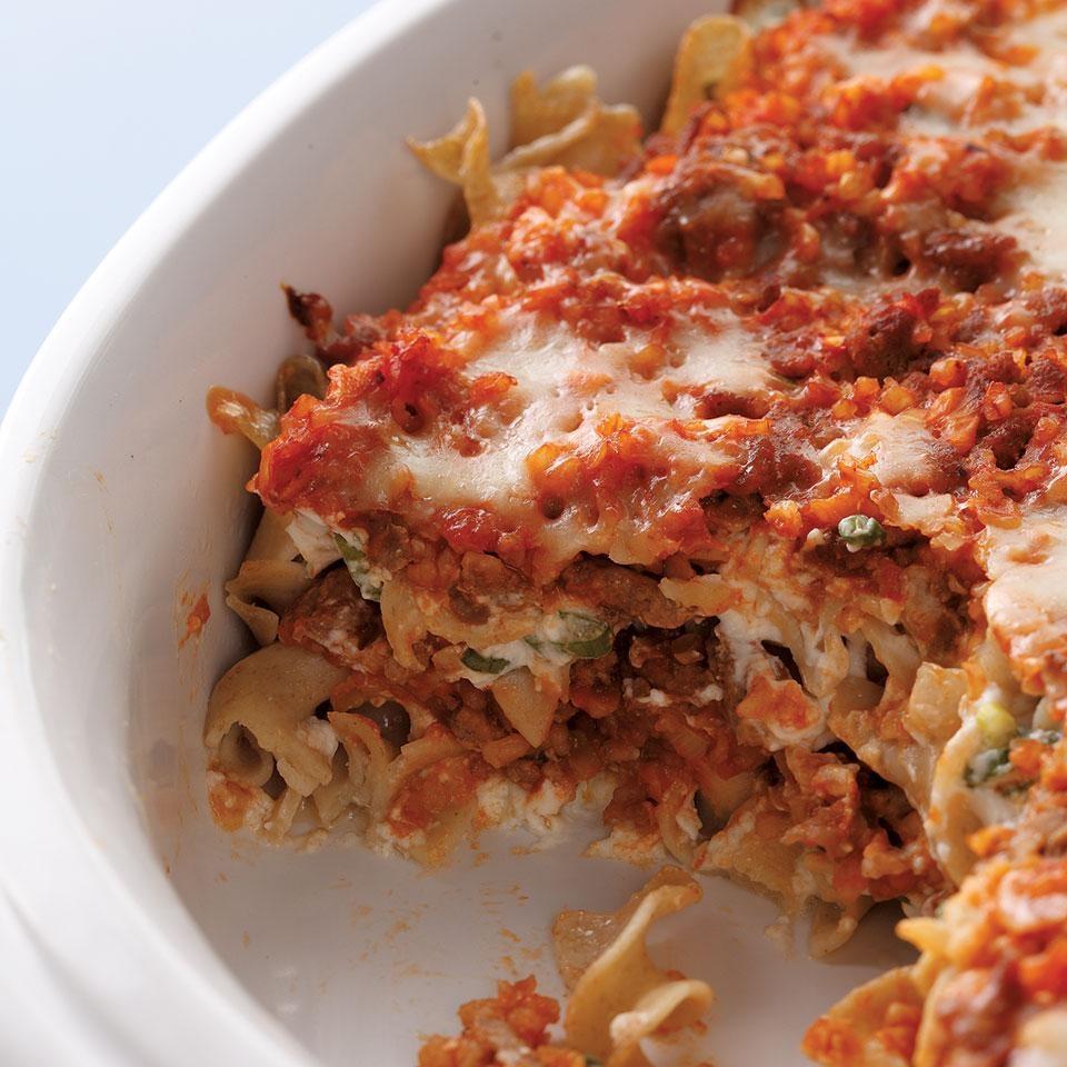 Creamy Hamburger Noodle Casserole Recipe - EatingWell