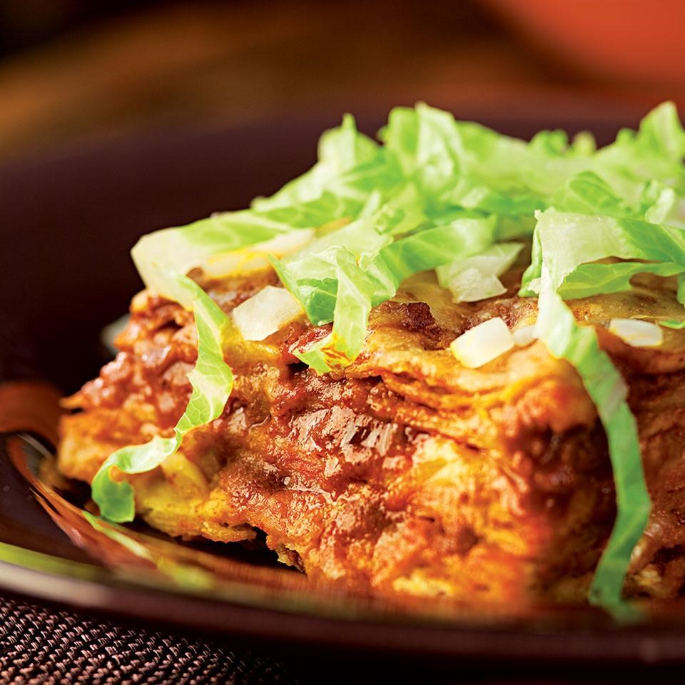 Cheese Enchiladas With Red Chile Sauce Recipe
