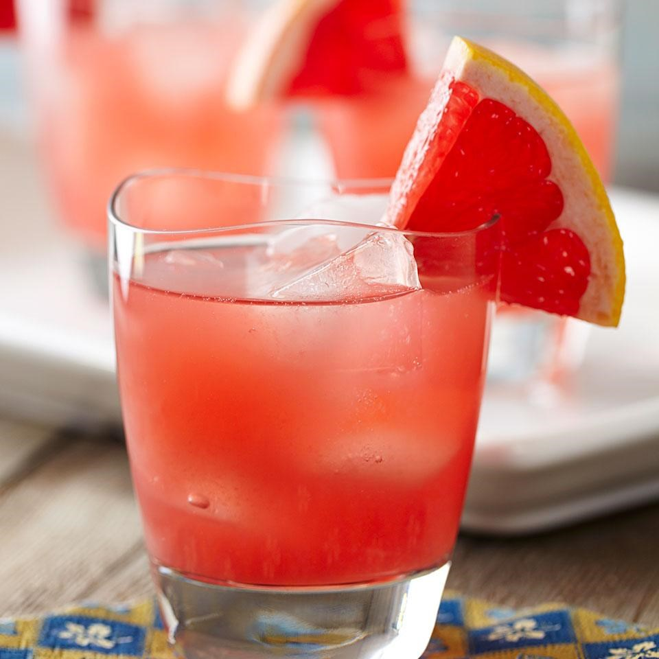 Ruby-Red Grapefruit Cocktail Recipe