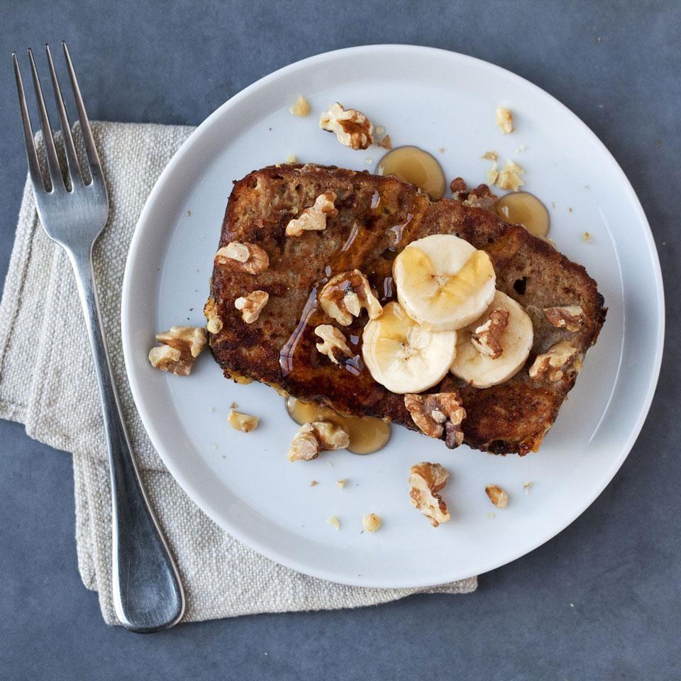 Banana Bread French Toast Recipe Eatingwell