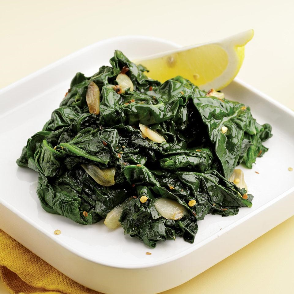Simple Sautéed Spinach Recipe - EatingWell