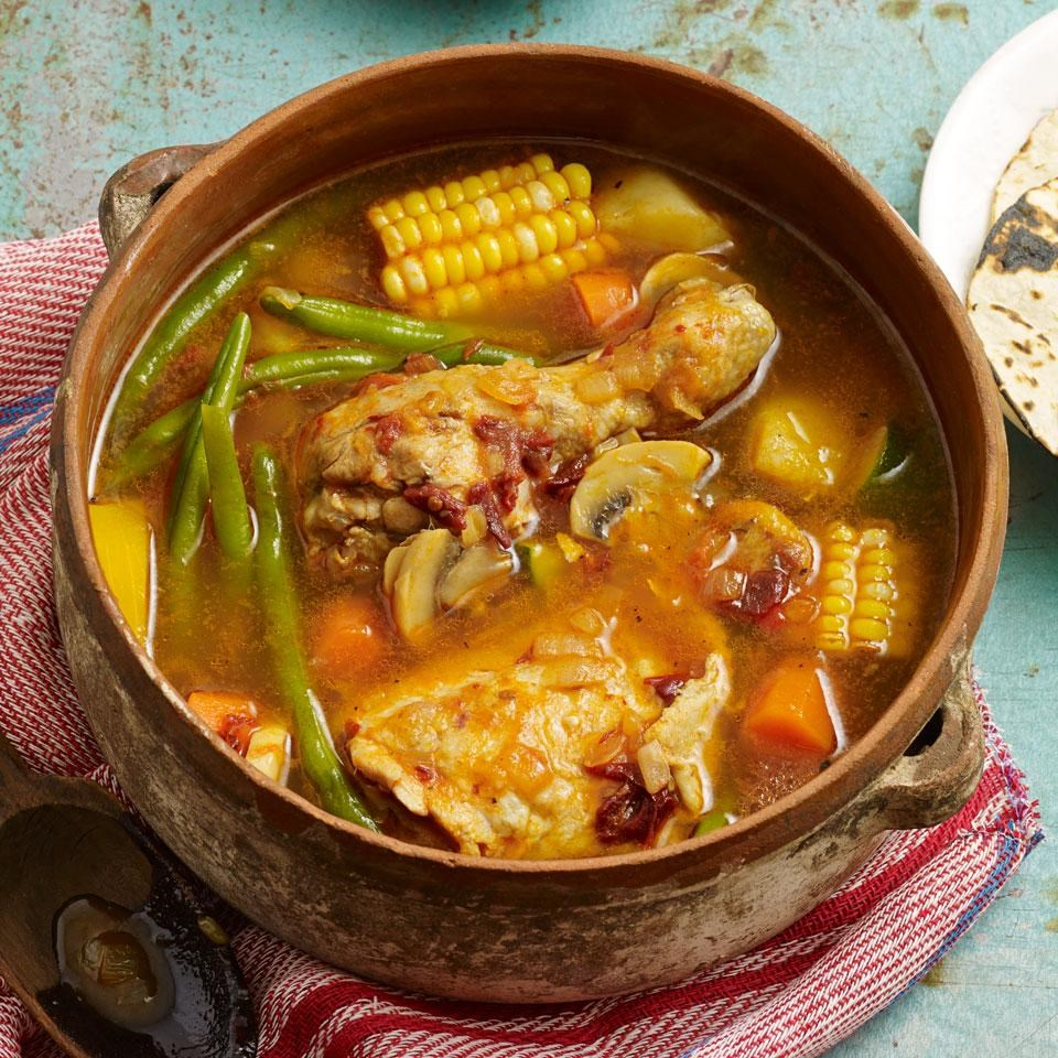Caldo Tlalpeño (Mexican Chicken Soup) Recipe - EatingWell
