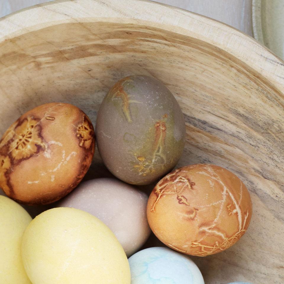 Khaki Green Natural Egg Dye & Egg Coloring