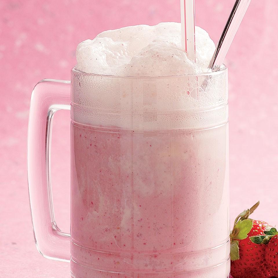 Strawberry Ice Cream Soda