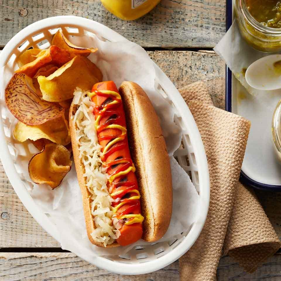 Hot Dog Healthy Alternative