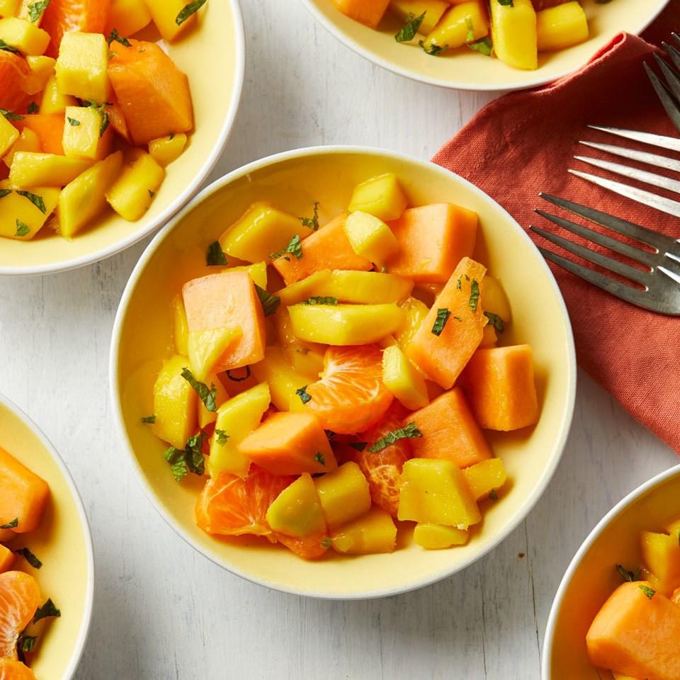 Orange Fruit Salad