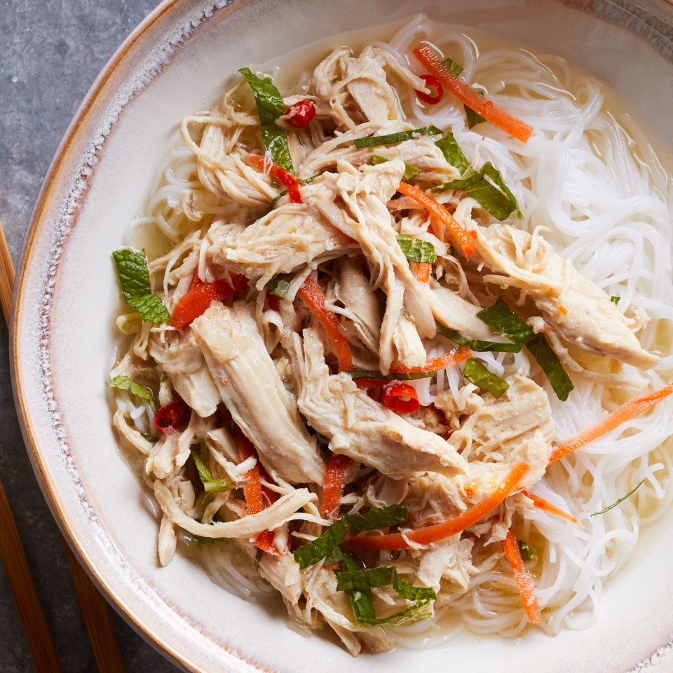 Slow-Cooker Vietnamese Pulled Chicken