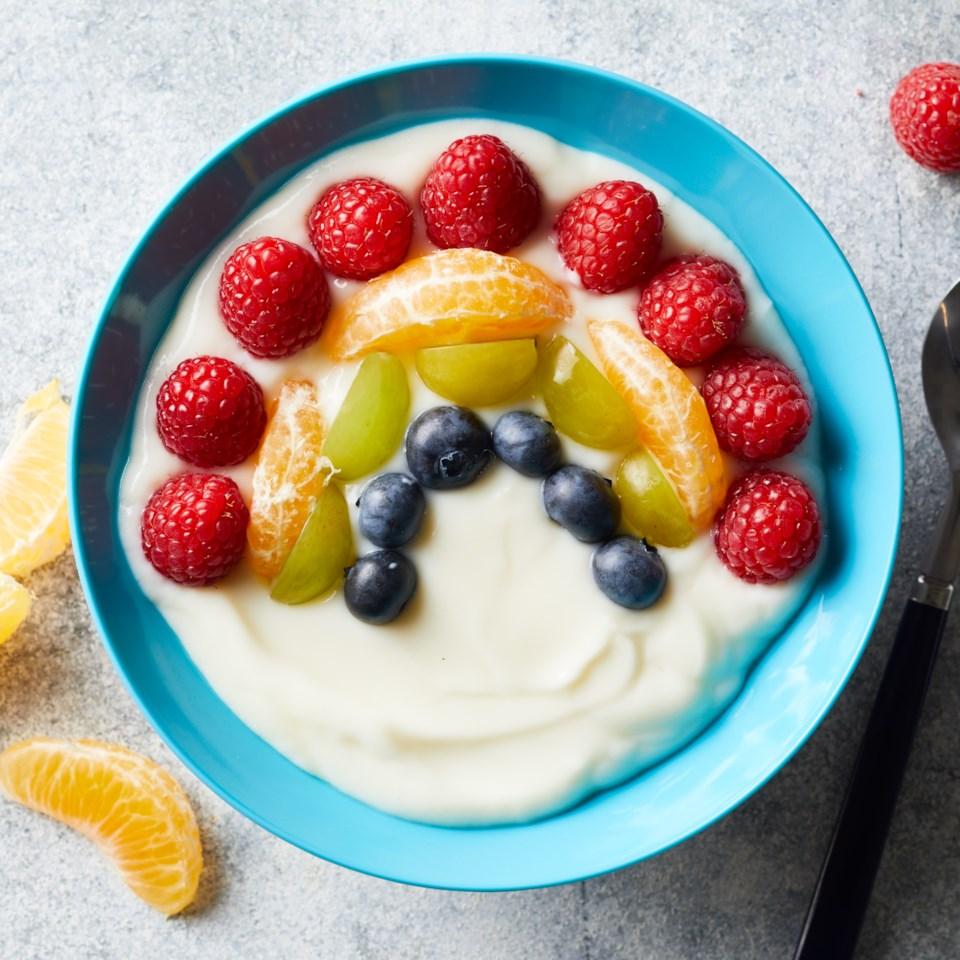 Rainbow Yogurt Bowl
