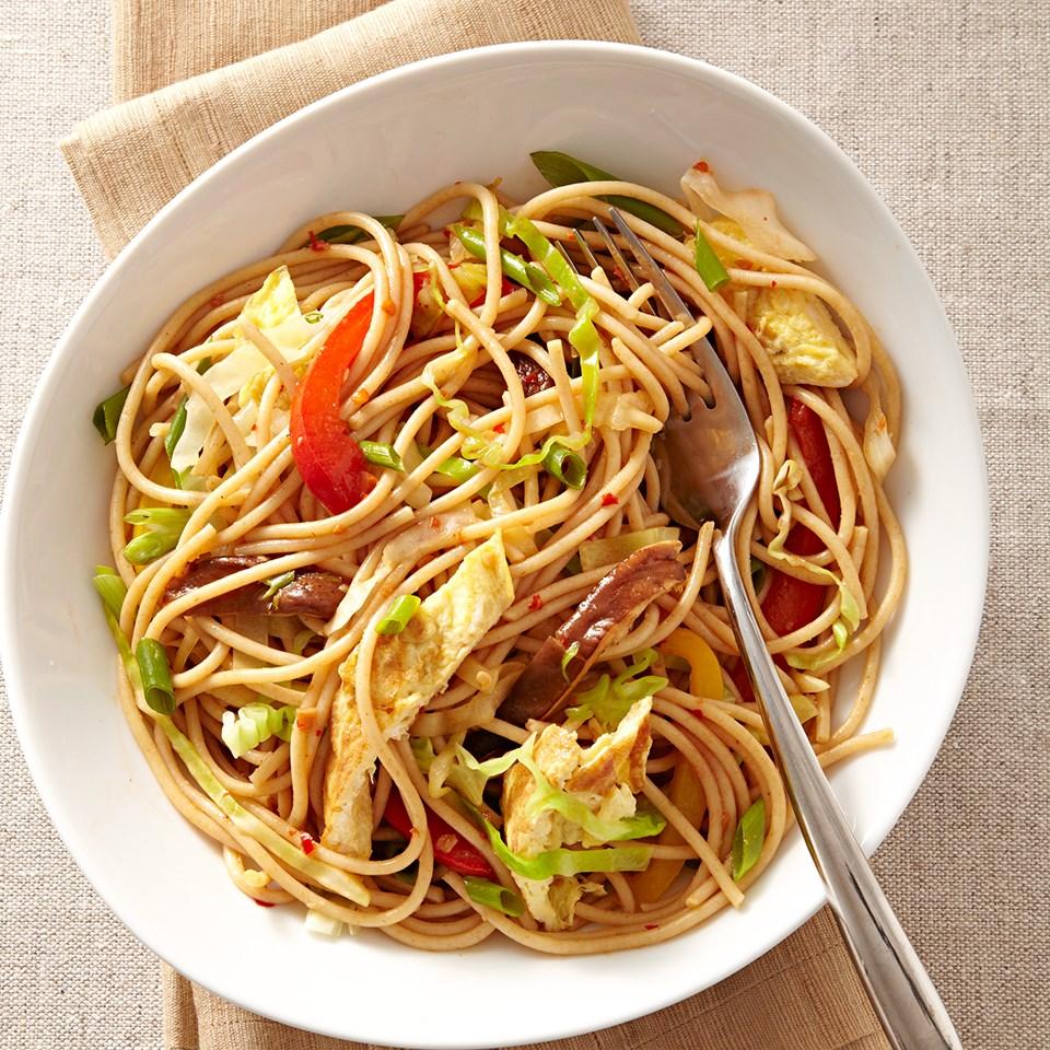 Chile-Lime Veggie Noodles Recipe