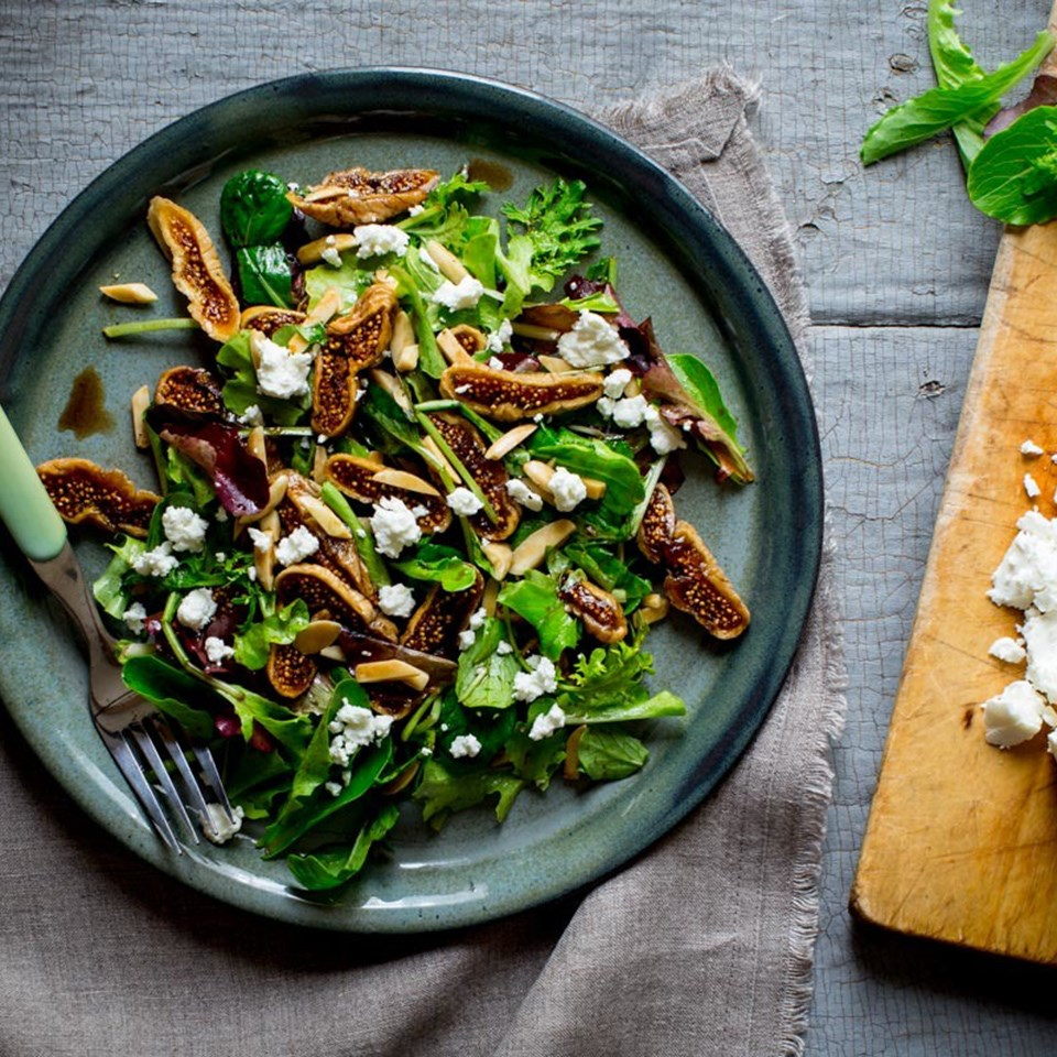 Fig & Goat Cheese Salad
