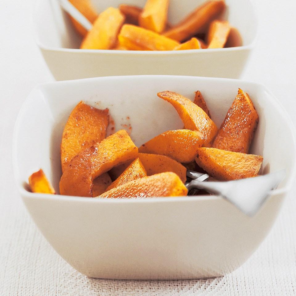 Cinnamon Baked Pumpkin Recipe