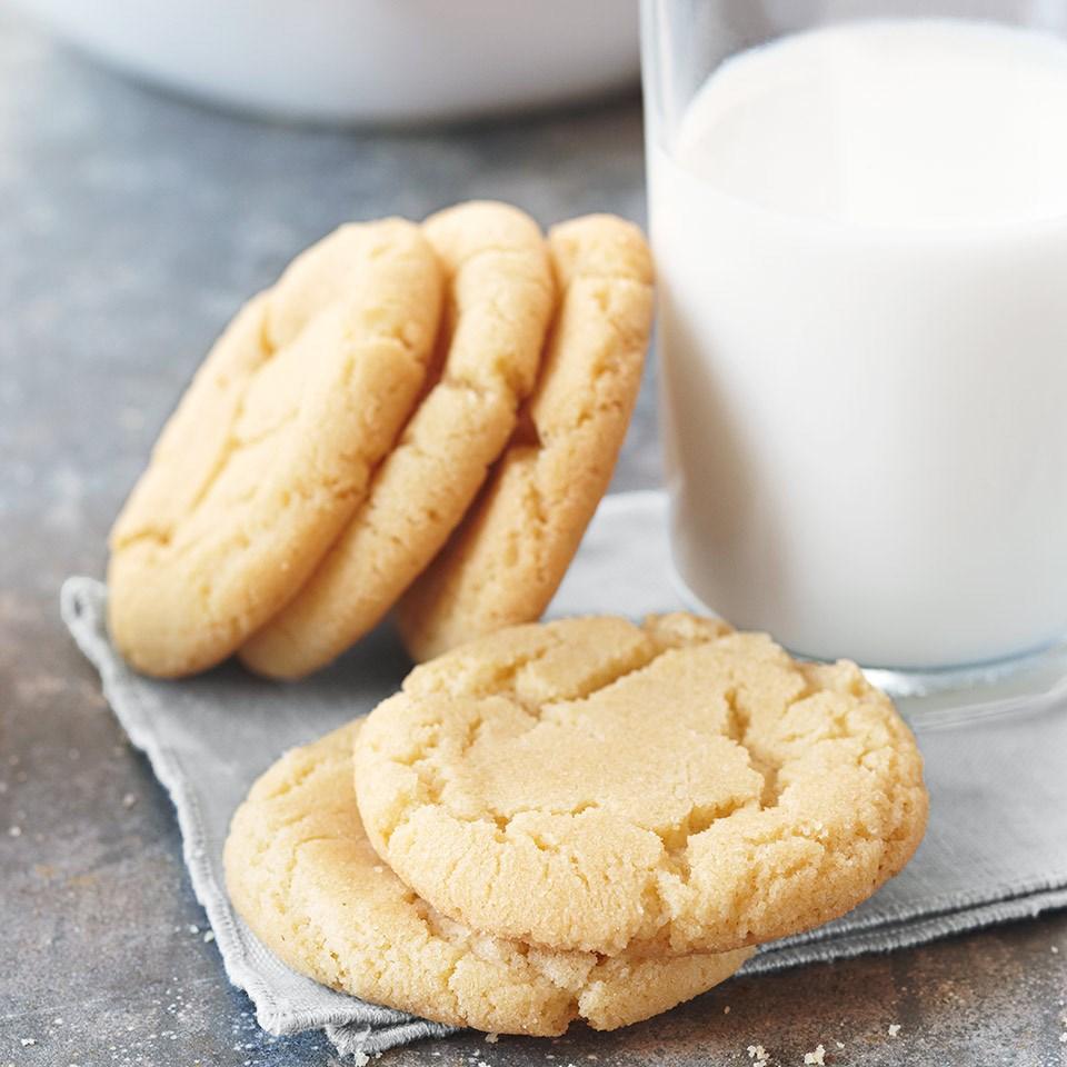 Crackled Sugar Cookies