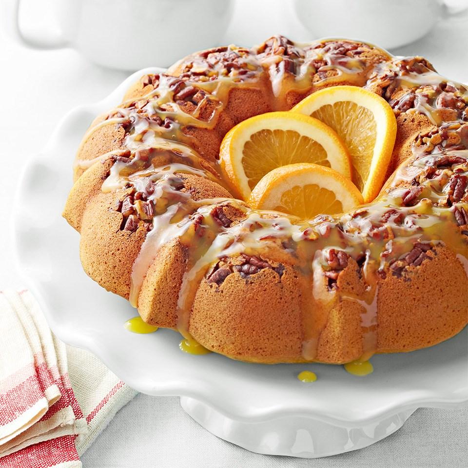 Pumpkin Coffee Break Cake