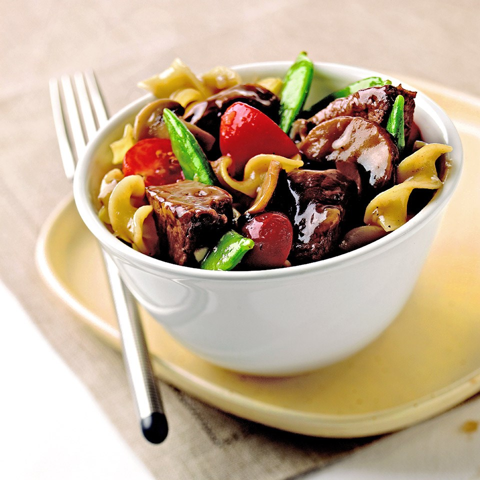Beef Stew with Red Wine Gravy