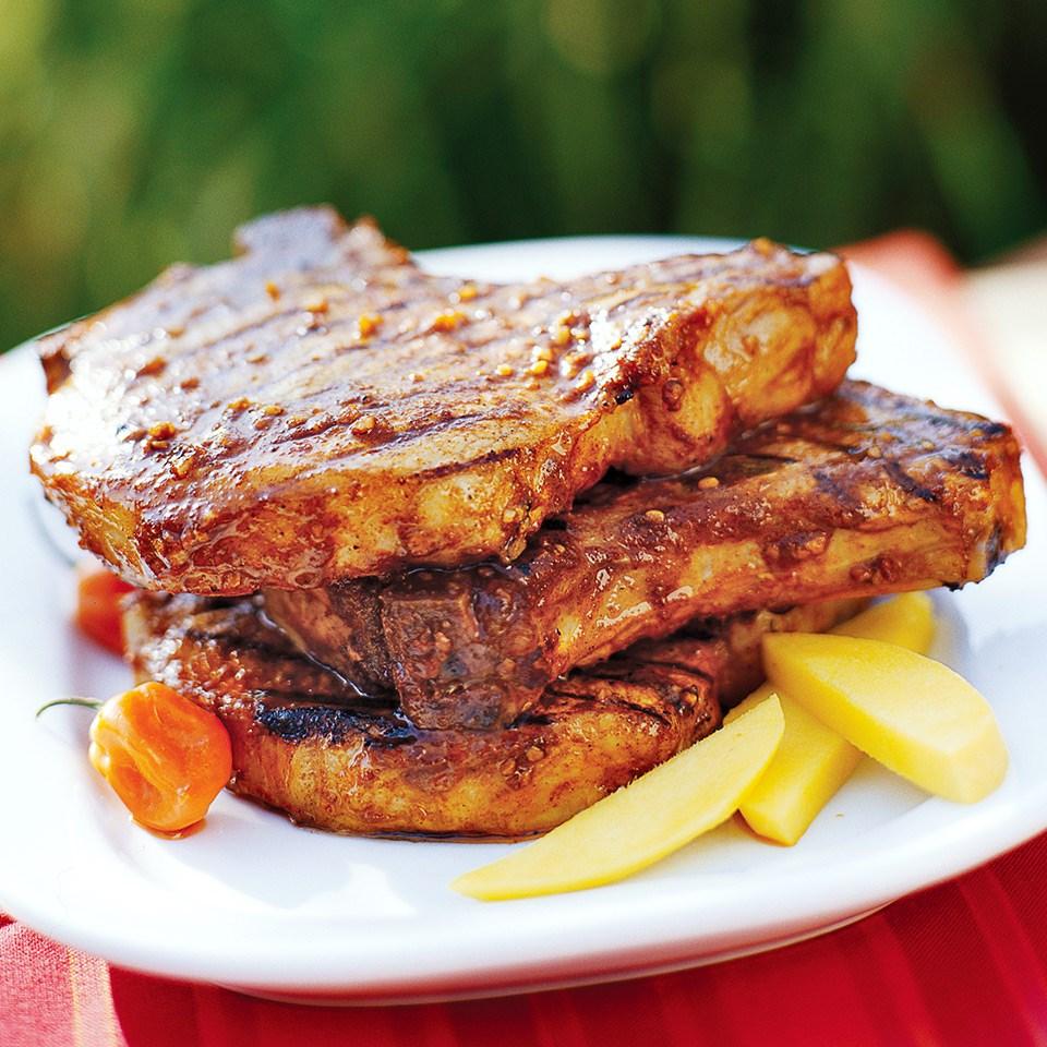 Spicy Grilled Pork Chops Recipe