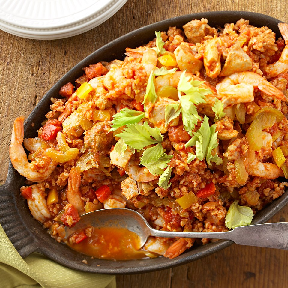 Chicken Shrimp Jambalaya Recipe Eatingwell