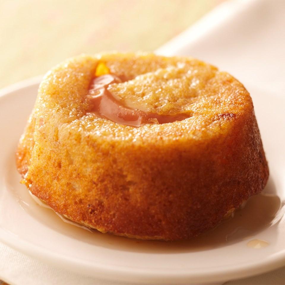 Cider-Glazed Fig-Apple Cupcakes