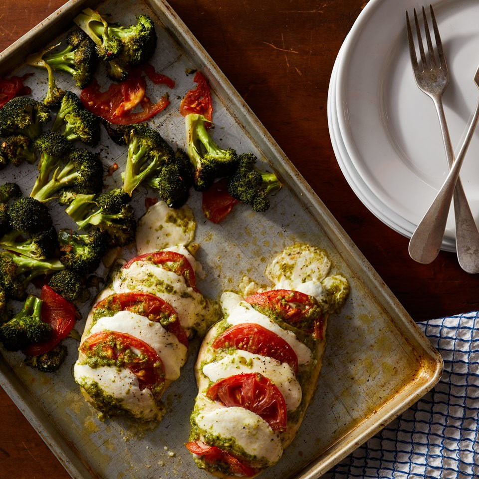 Hasselback Caprese Chicken Recipe Eatingwell