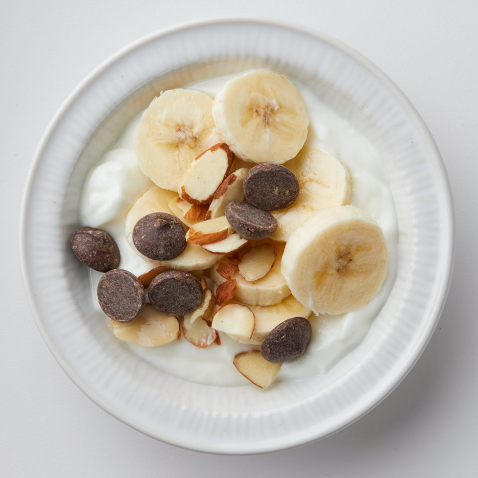 Yogurt Banana Sundae