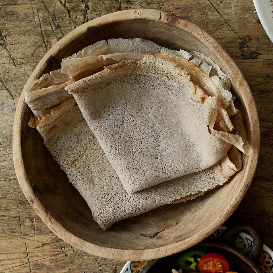 Healthy african recipes eatingwell injera ethiopian flatbread forumfinder Choice Image