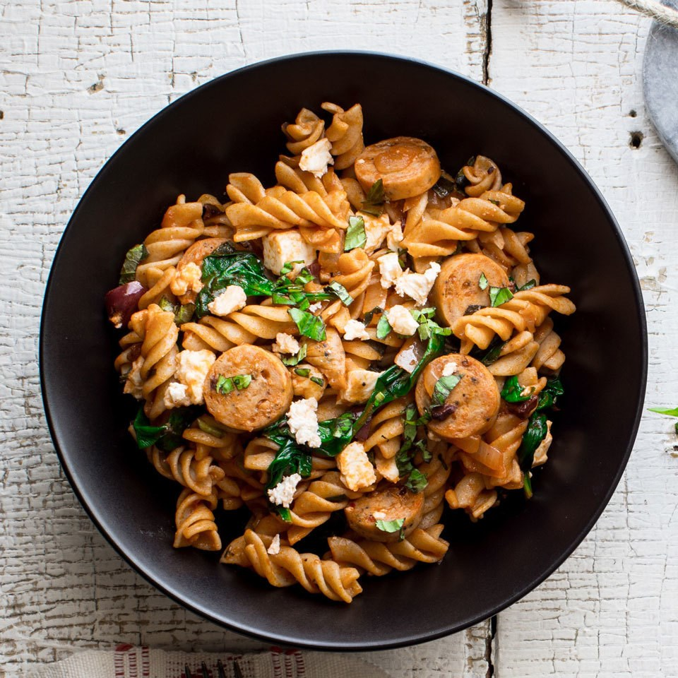 One-Pot Greek Pasta