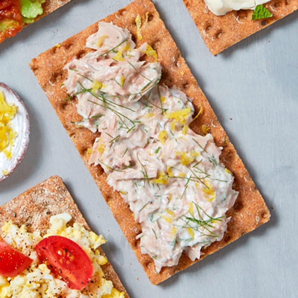 Lemon Tuna & Yogurt Cracker