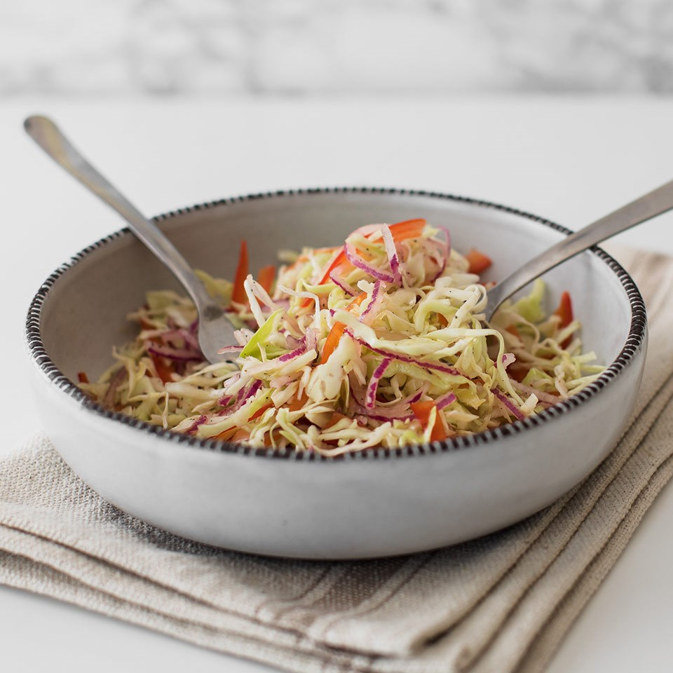 How to Spiralize Cabbage for the Easiest Crowd-Pleasing Coleslaw