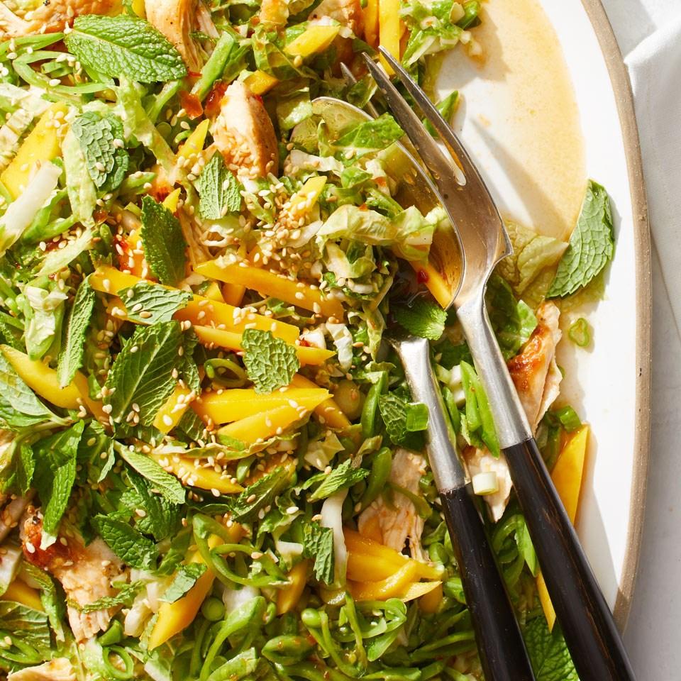 Crunchy Chicken Mango Salad