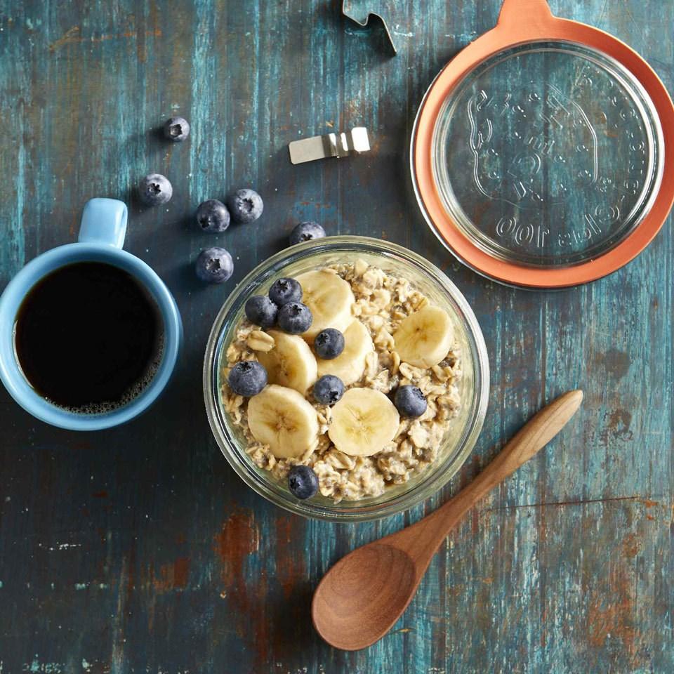 Peanut Butter Protein Overnight Oats