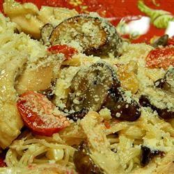 Chicken Asparagus Pasta with Cream Sauce Marianne