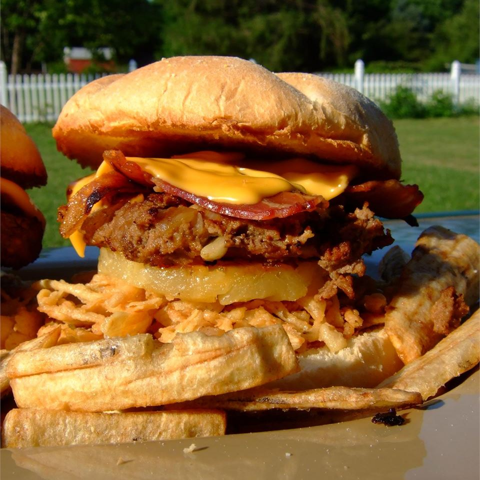 Hawaiian Belly Buster Burgers Steve