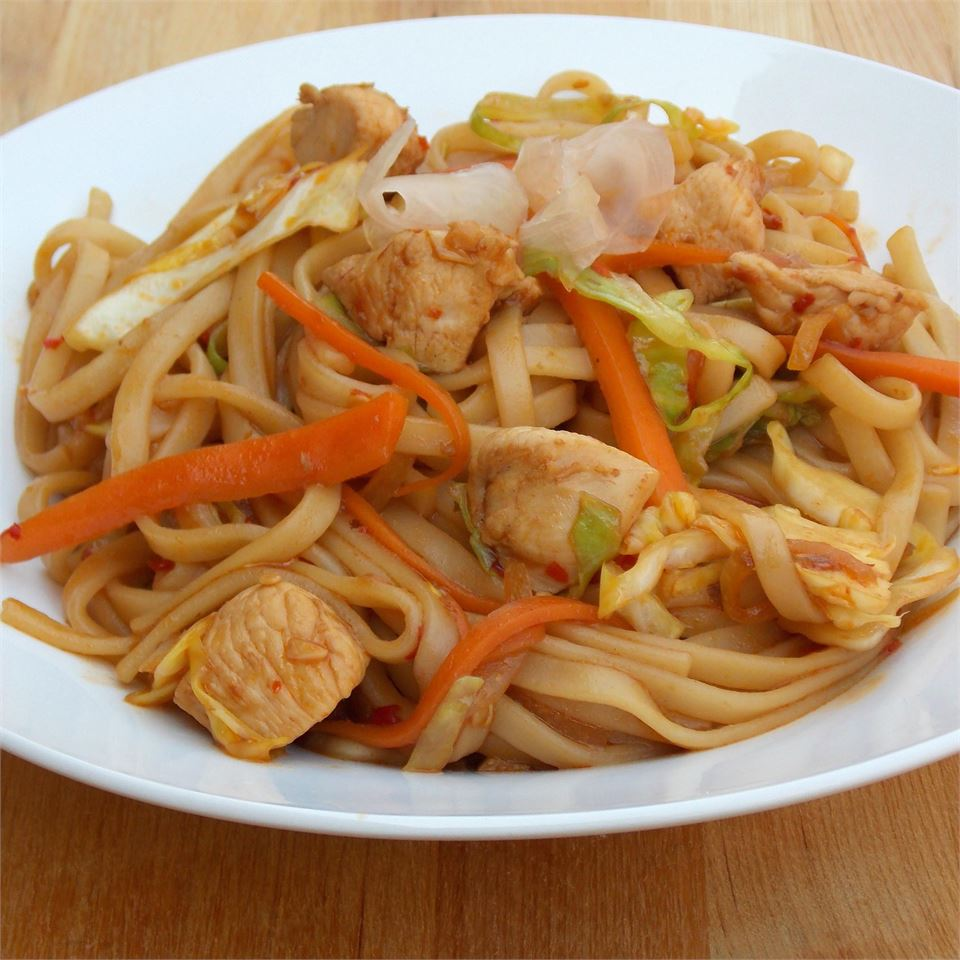 Chicken Yakisoba Allrecipes