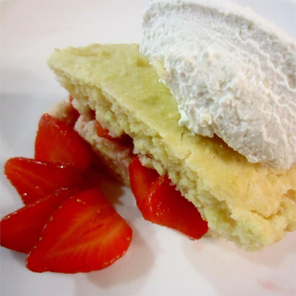 Old Fashioned Strawberry Shortcake